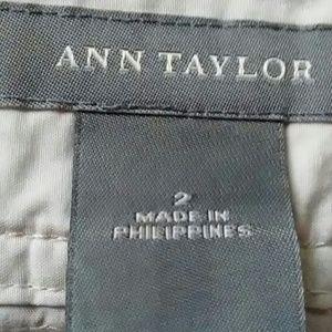 Ann Taylor Shorts - Ann Taylor size 2 khaki cargo knee length shorts